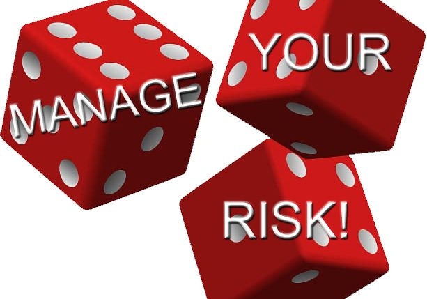 manage your risk graphic drew the broker